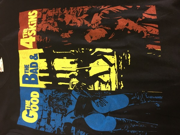 4-skins the good the bad and the 4-skins shirt