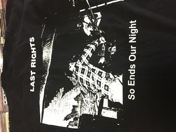 Last rights so ends our night shirt