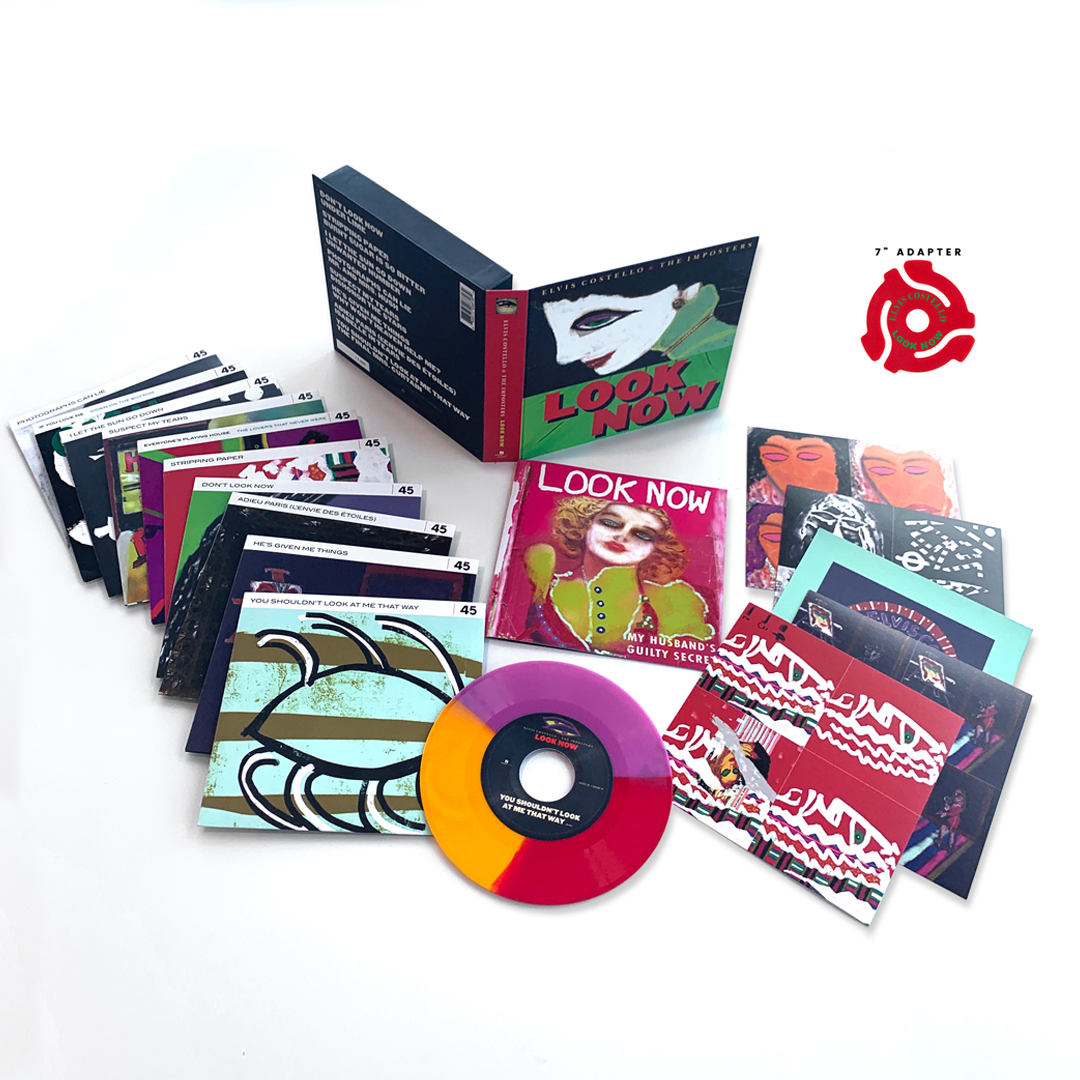 "Look Now Deluxe 7"" Box Set Edition (ten 7"" vinyl) + Adapter - Limited to 1000 Units"