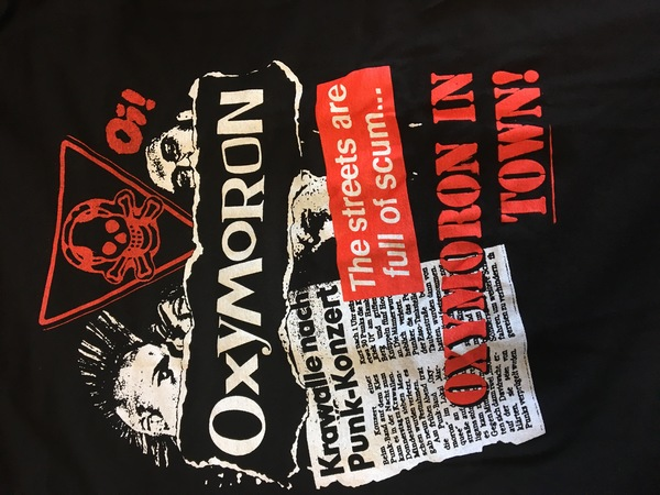 Oxymoron in town shirt