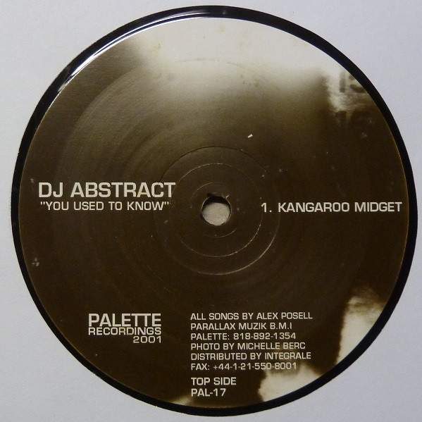 DJ Abstract – You Used To Know (Palette Recordings)