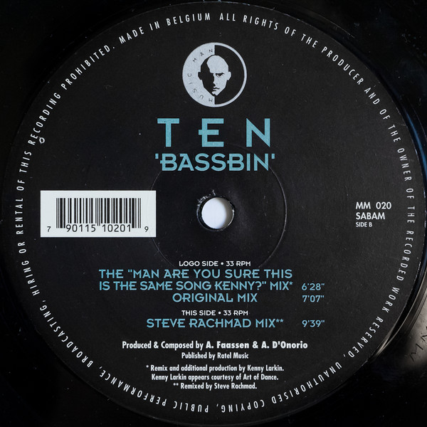 Ten – Bassbin (Music Man Records)