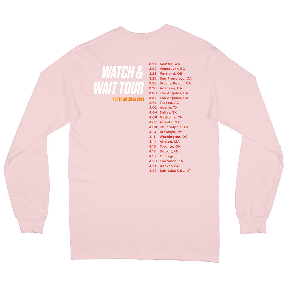 Watch & Wait Tour Long Sleeve