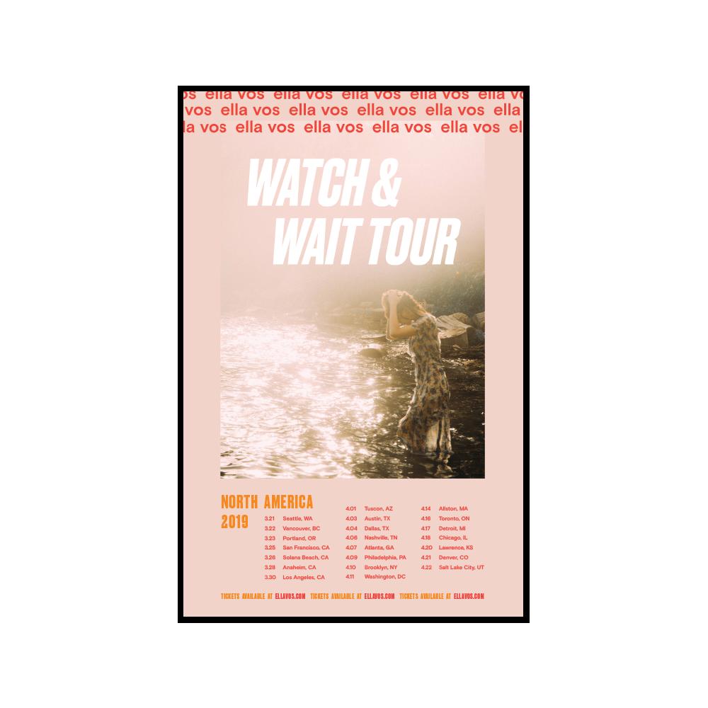 Wait & Wait Tour Poster