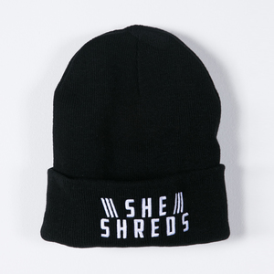 She Shreds - Logo Beanie Hat