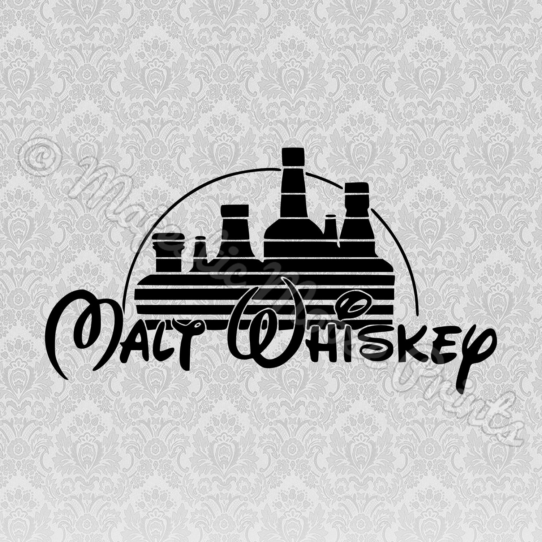 Malt Whisky / Walt Disney SVG