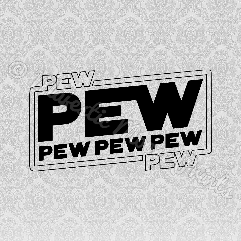 Pew Pew SVG