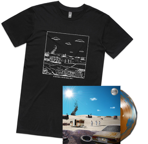 DZ Deathrays - Positive Rising: Part 1 and Album Shirt Bundle