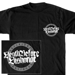 Death Before Dishonor 'Unfinished Business Pocket Print' T-Shirt