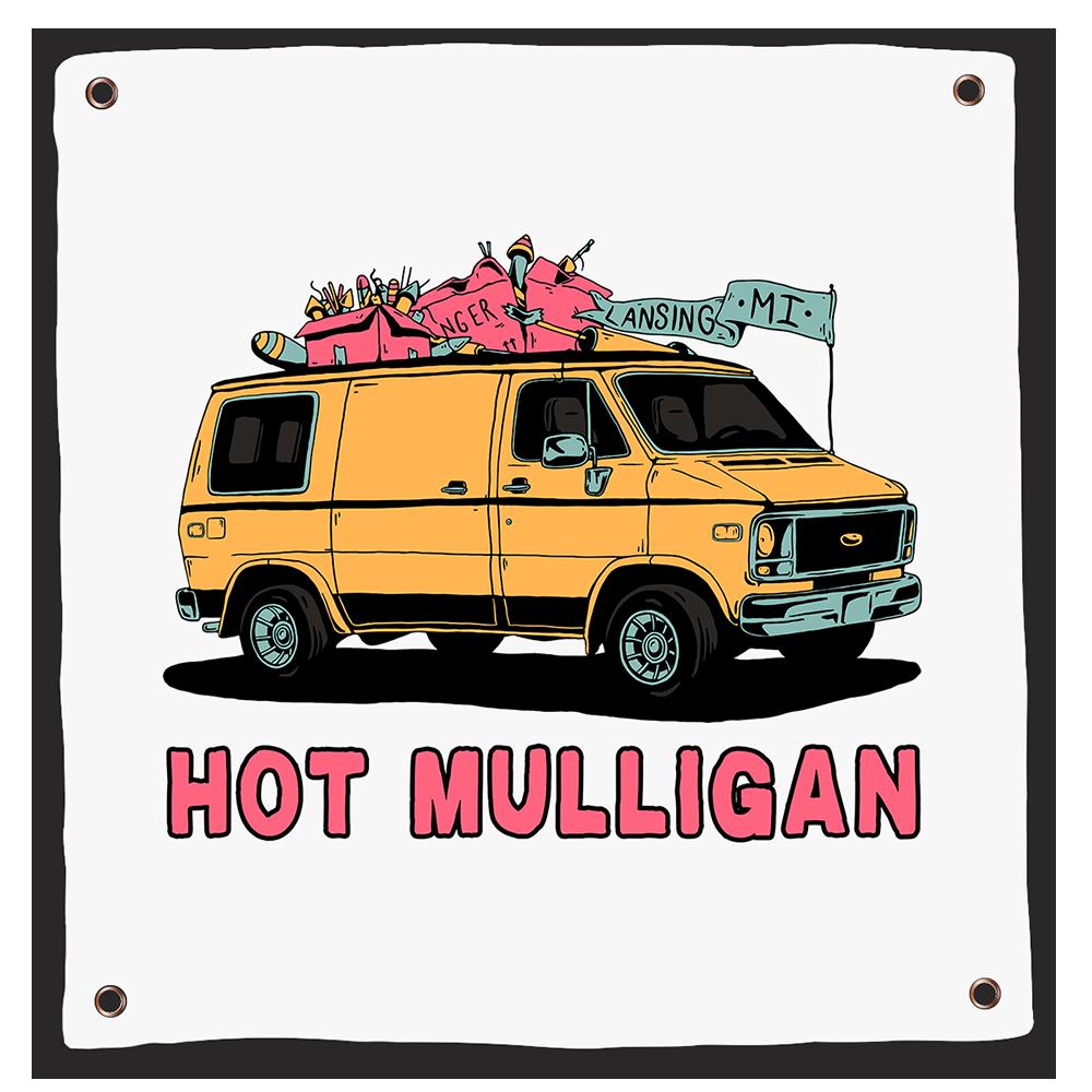 Hot Mulligan - Van Flag