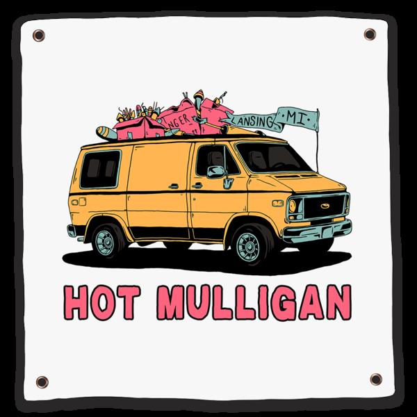 Hot Mulligan Merch - Van Flag