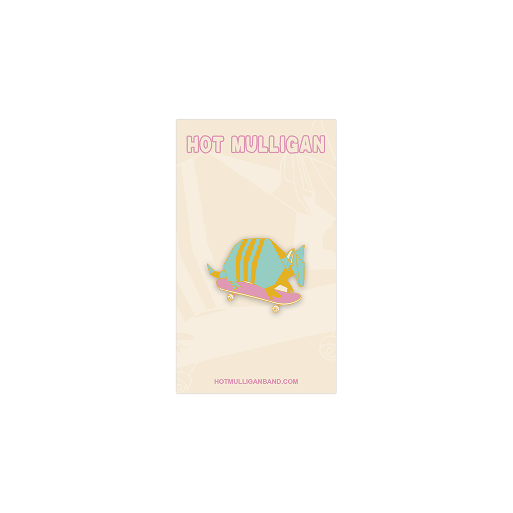 Hot Mulligan - Armadillo Pin