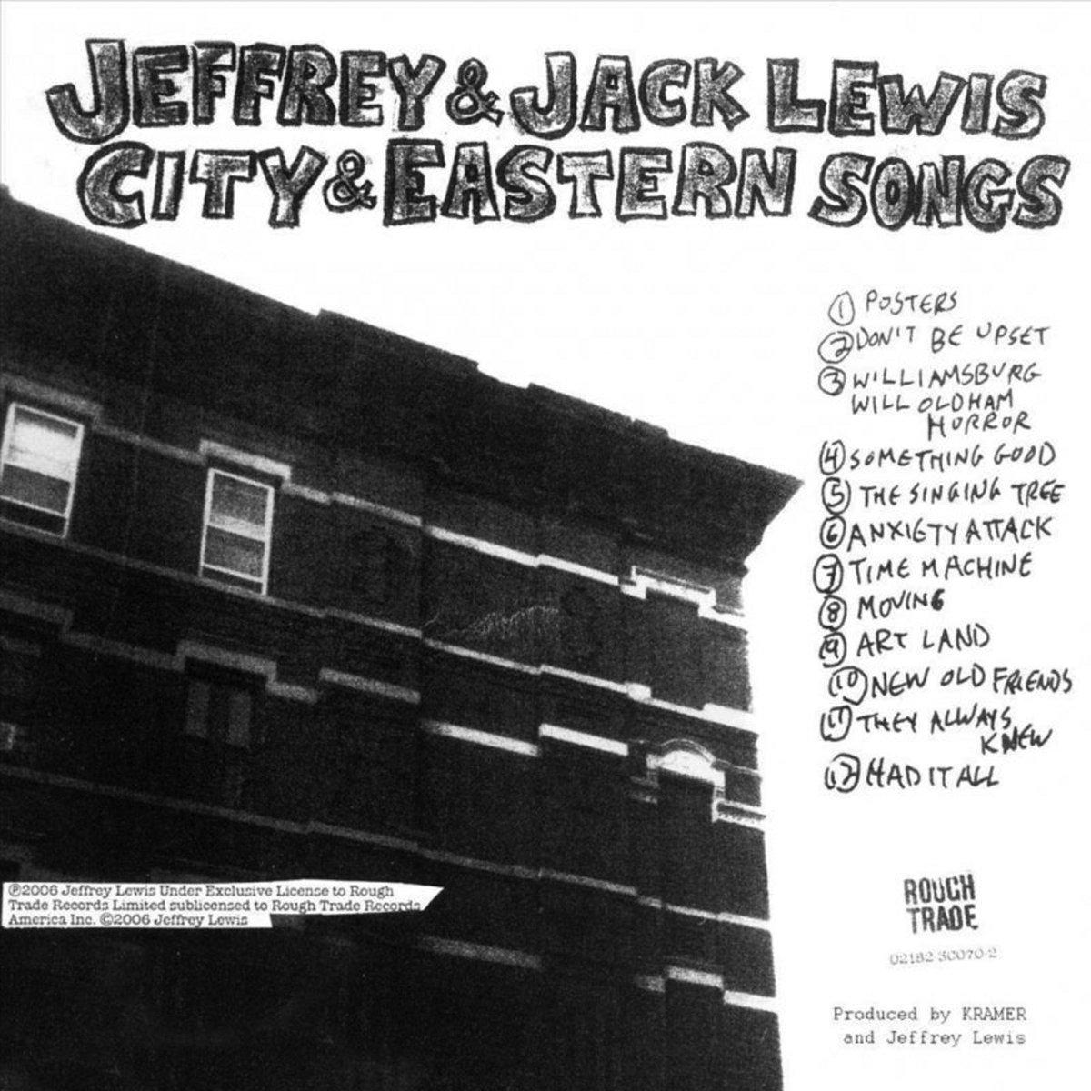 Jeffrey & Jack Lewis - City & Eastern Songs LP