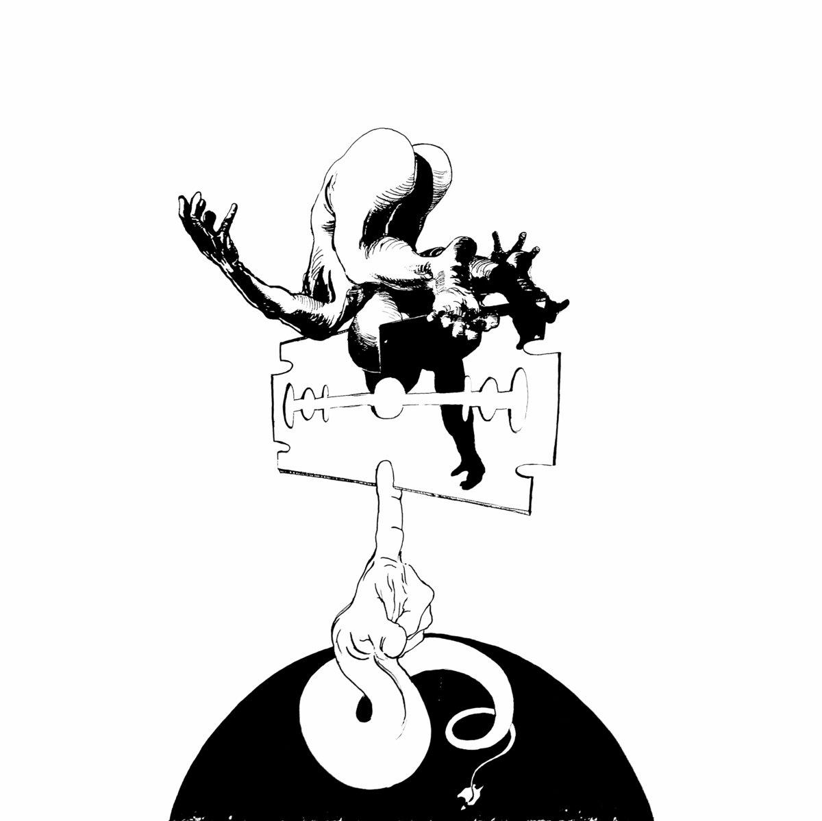 Negative Gears - s/t LP