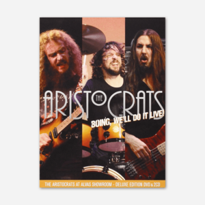 The Aristocrats BOING, WE'LL DO IT LIVE DELUXE EDITION CD & DVD