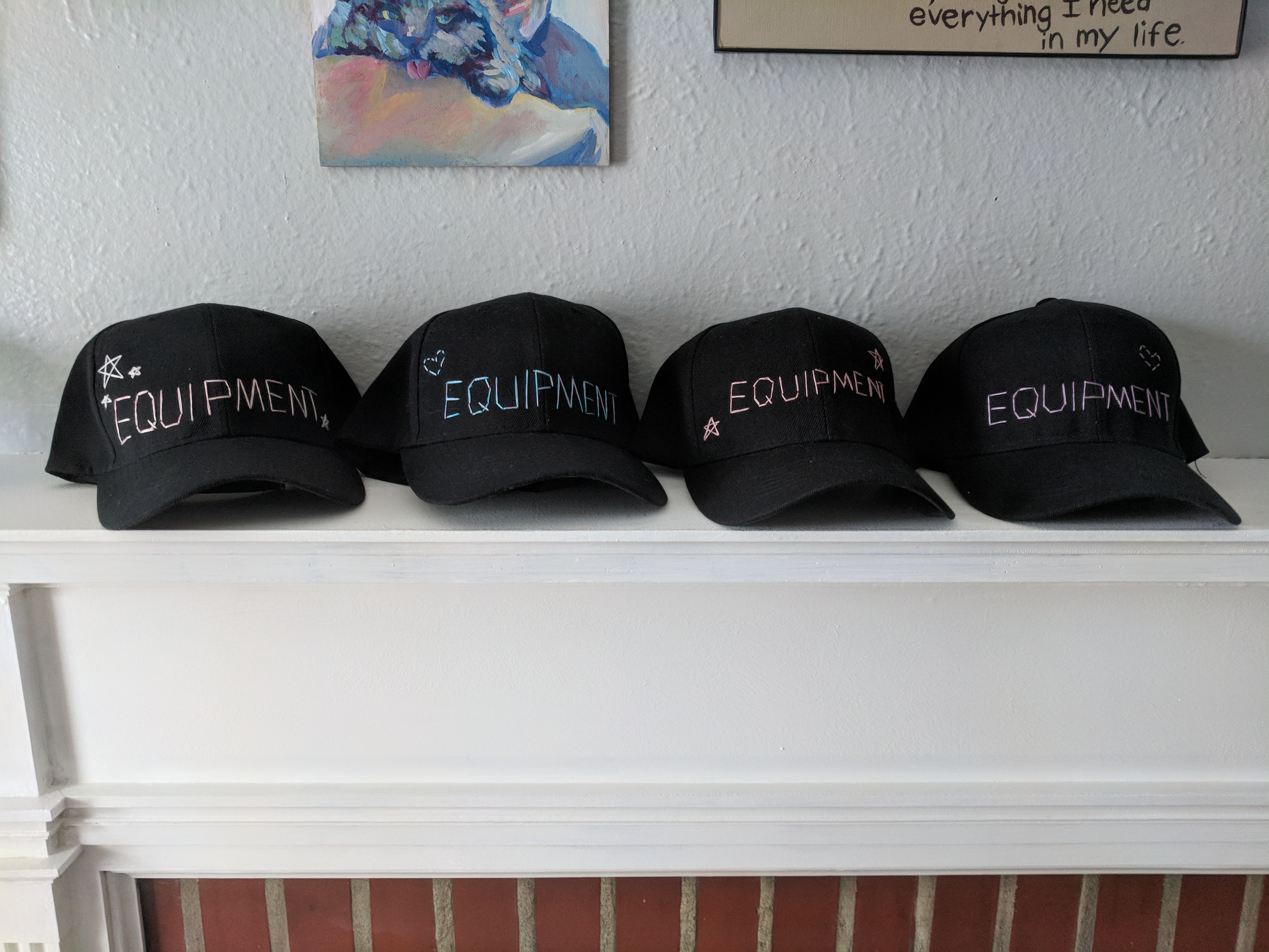 Hand-Embroidered Hat