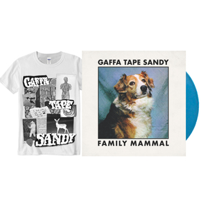 Gaffa Tape Sandy – Family Mammal EP and Collage Shirt