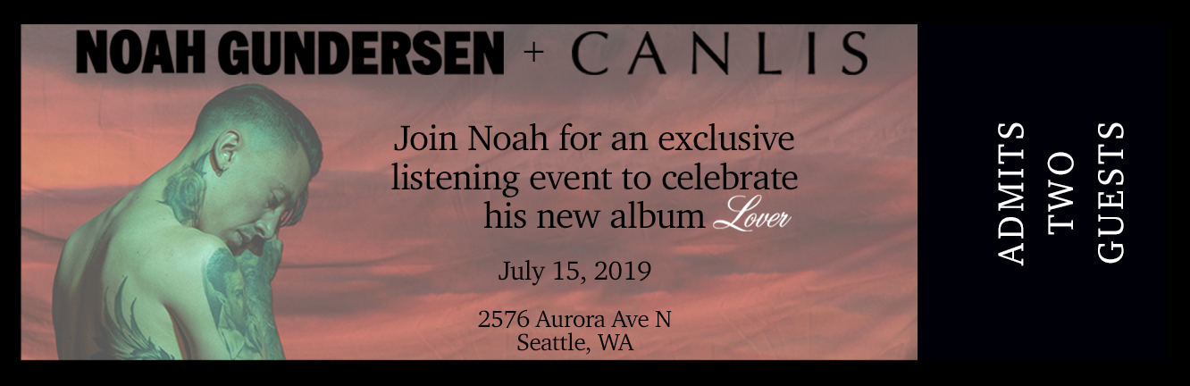Seattle Canlis Listening Party Bundle (Only 2 Available) (Includes exclusive bonus track)
