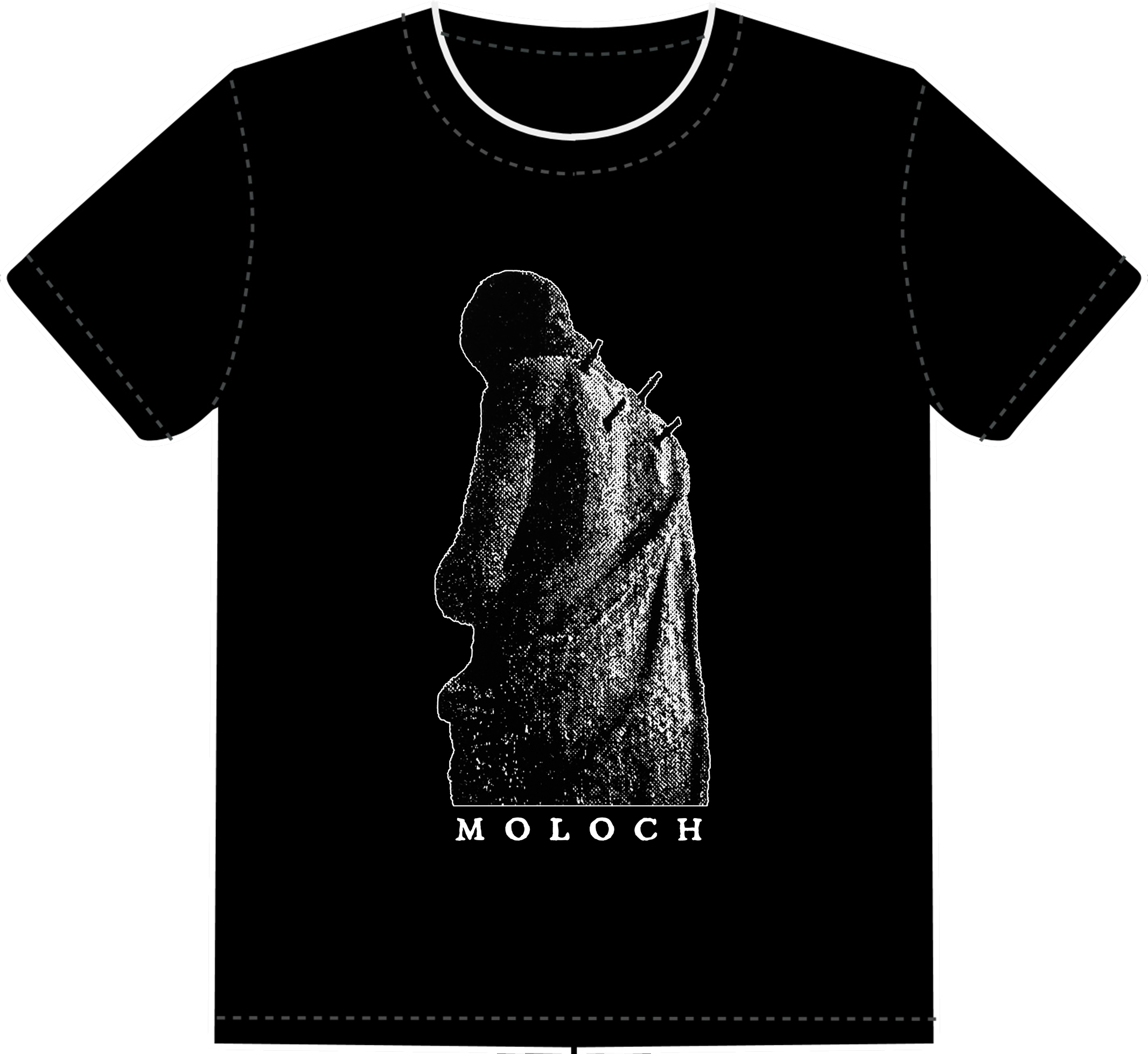 MOLOCH - STATUE SHORT SLEEVE SHIRT