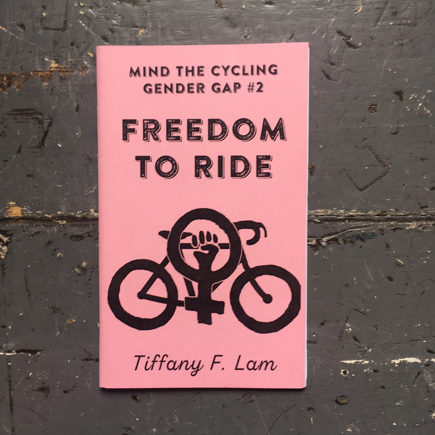 Mind the Gender Cycling Gap #1 & #2 Zine