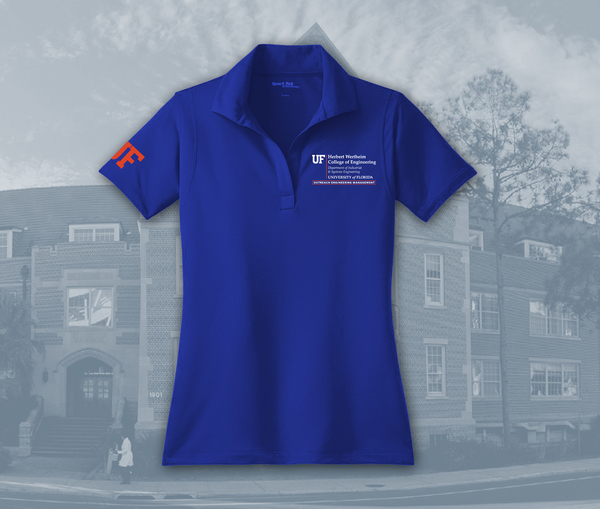 UF Industrial & Systems Engineering, OEM Program - Women's Polo