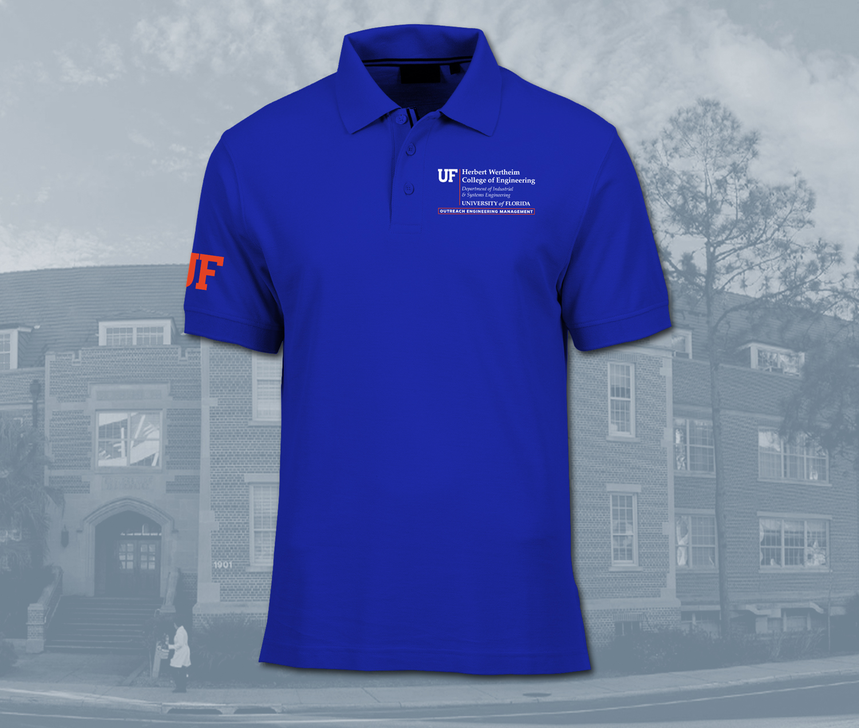 UF Industrial & Systems Engineering, OEM Program - Men's Polo
