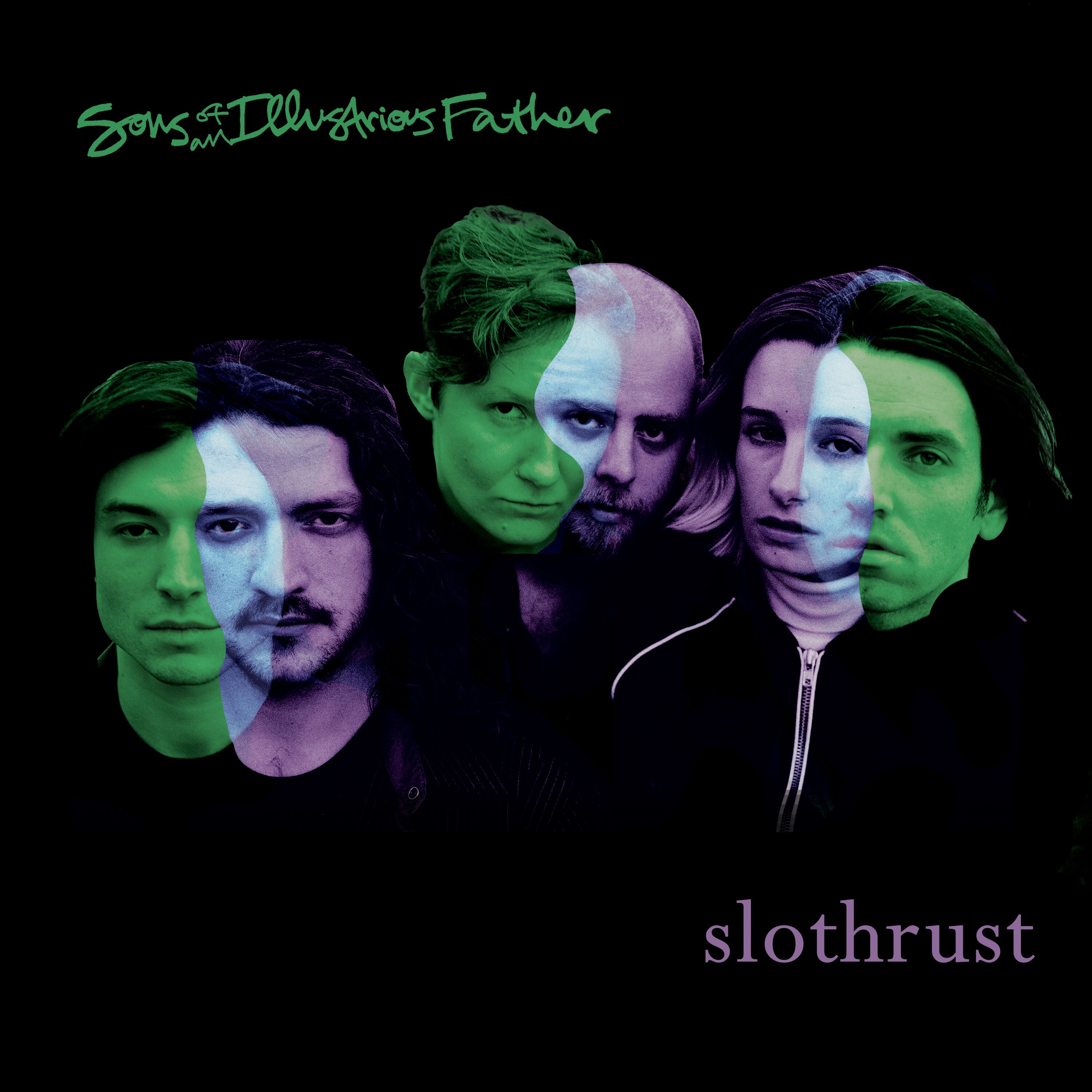Slothrust b/w Sons of an Illustrious Father - U.S. Gay / Horseshoe Crab (Digital Download)