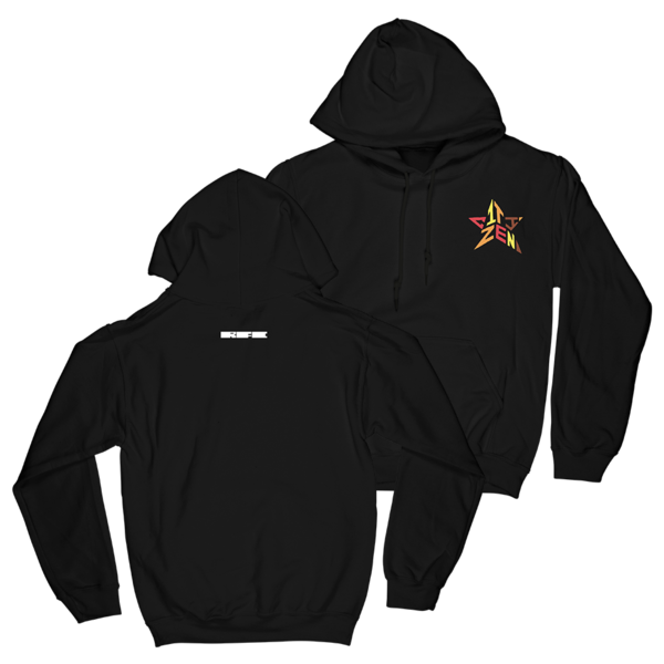 Embroidered Star Hoodie