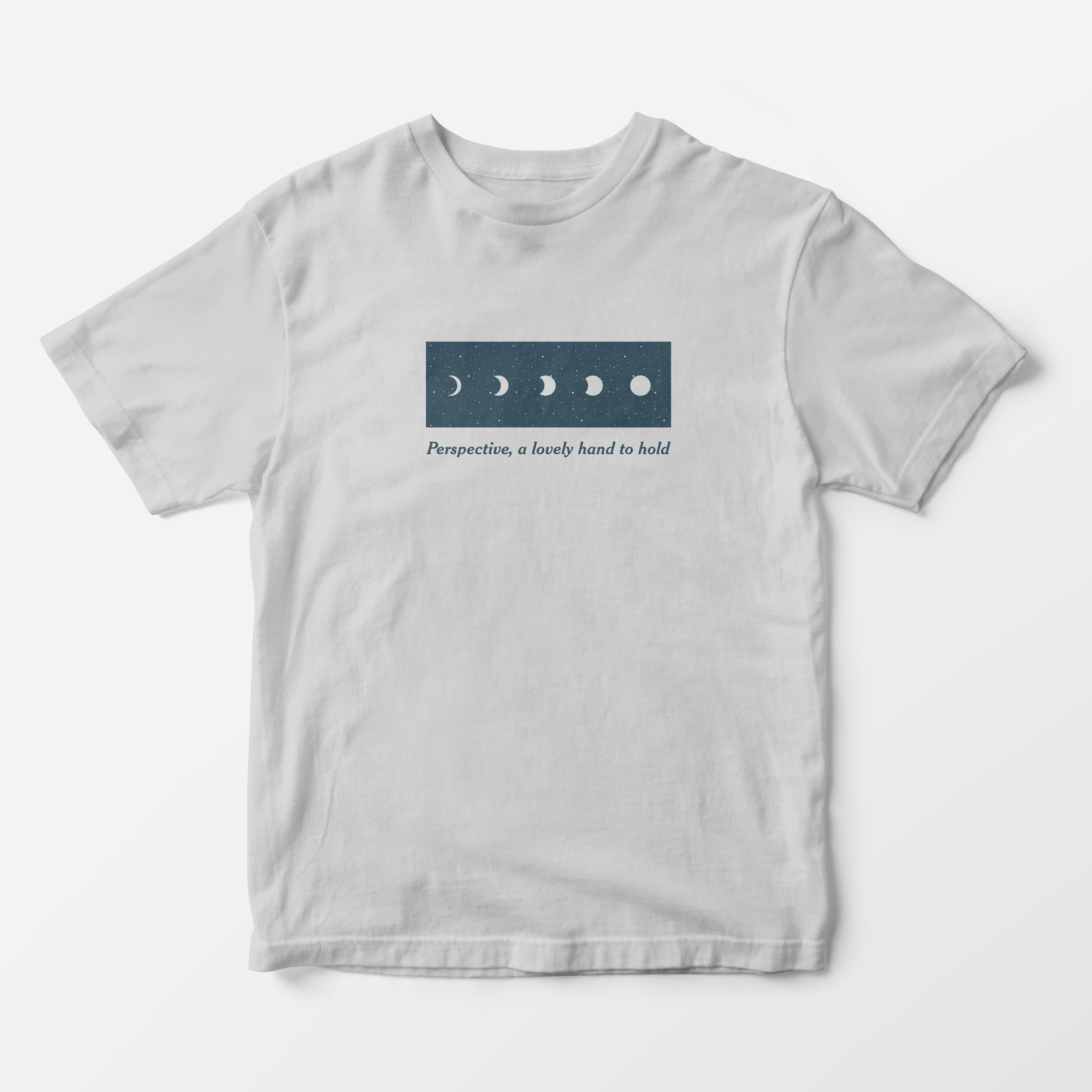 Perspective, A Lovely Hand to Hold - Moon Shirt