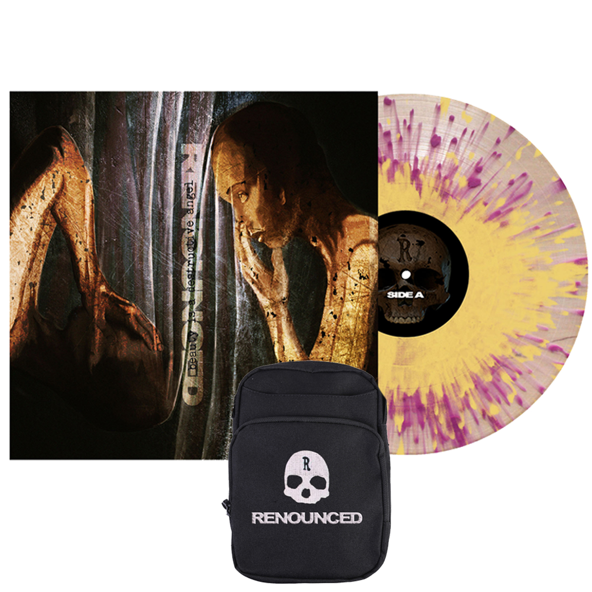 Renounced - Beauty Is A Destructive Angel vinyl LP + body bag PREORDER