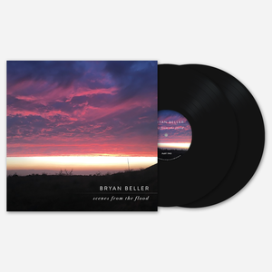 Bryan Beller SCENES FROM THE FLOOD BLACK DOUBLE LP