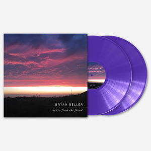 Bryan Beller SCENES FROM THE FLOOD PURPLE DOUBLE LP