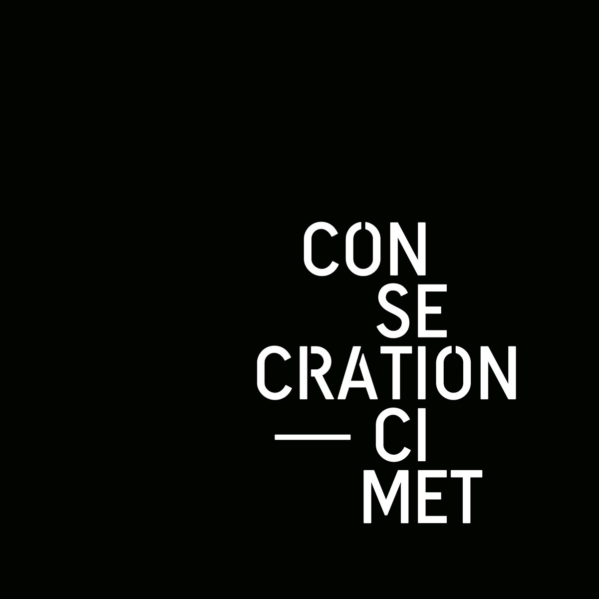 CONSECRATION - Cimet