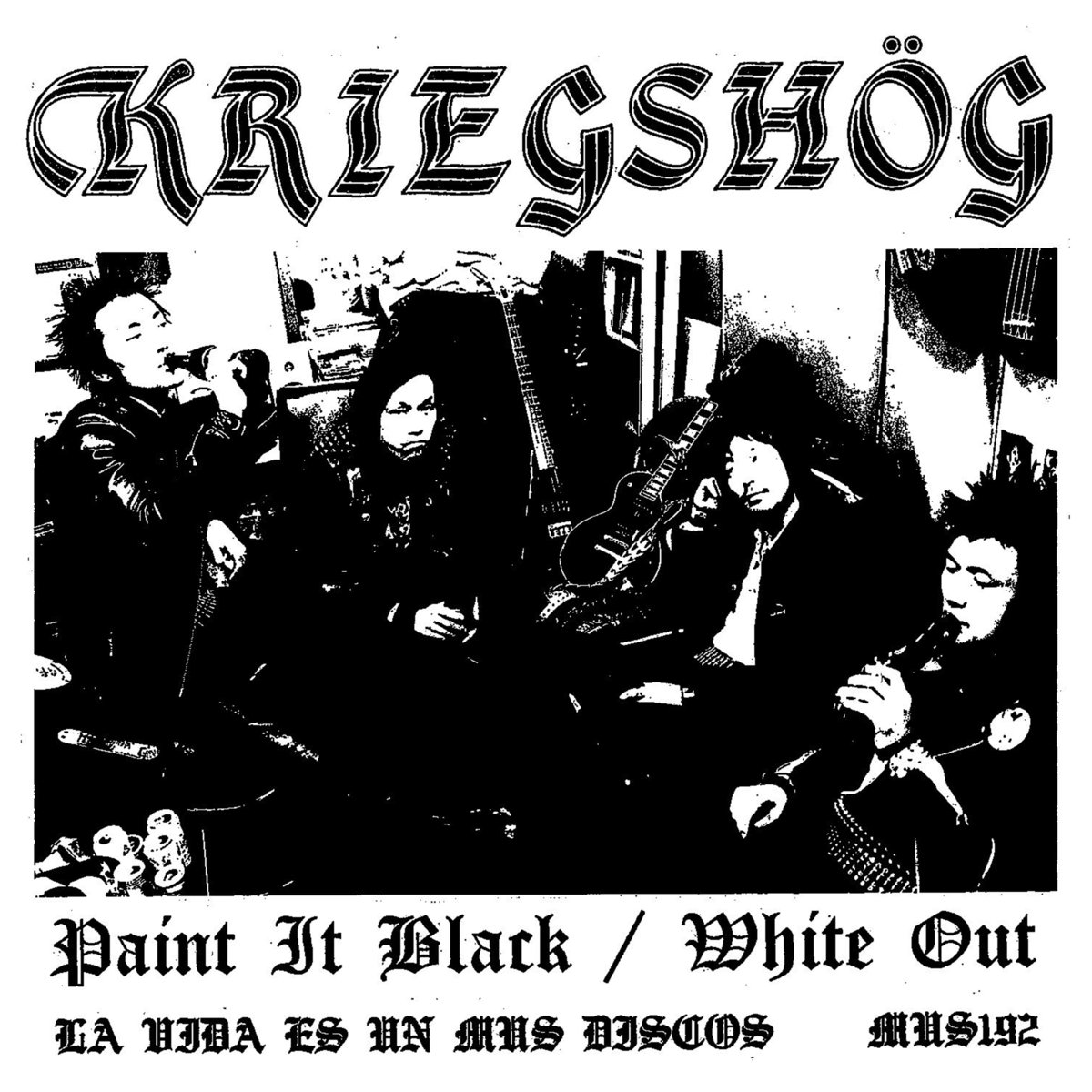 Kriegshog - Paint It Black/White Out 7