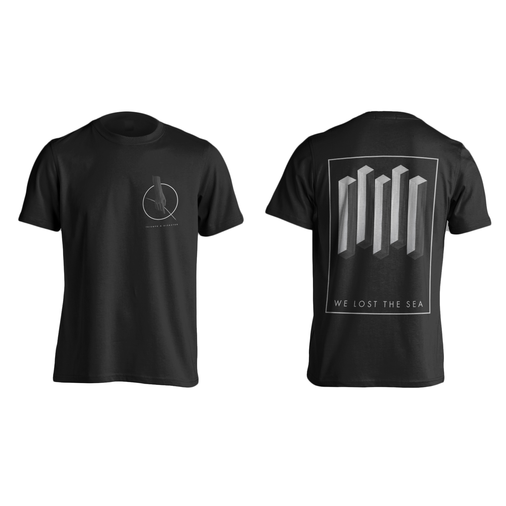 We Lost The Sea - Triumph & Disaster shirt PREORDER