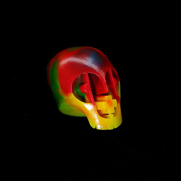 P+P Skull - Rainbow Mix Variant