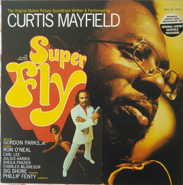 Curtis Mayfield – Super Fly LP  (Sequel Records)