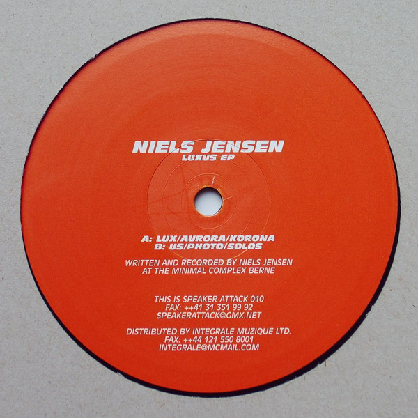 Niels Jensen – Luxus EP (Speaker Attack)