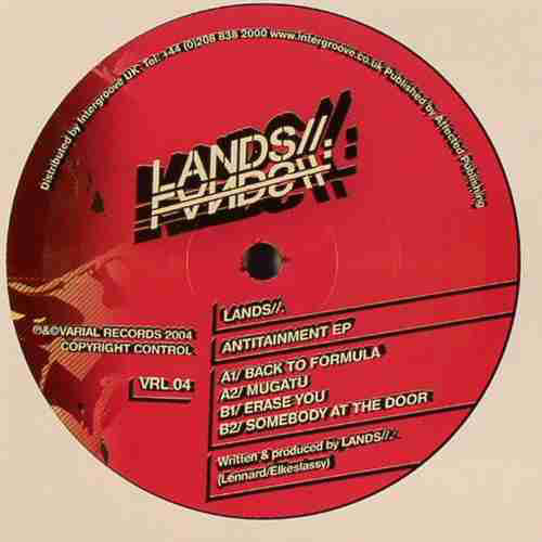 Lands// ‎– Antitainment EP (Varial Records)