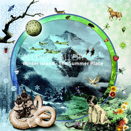 ALLYSEN CALLERY - WINTER ISLAND / THE SUMMER PLACE (LP)
