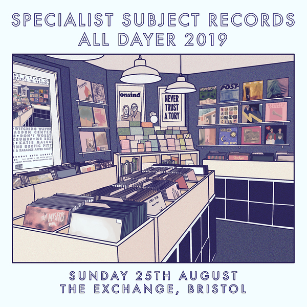 Specialist Subject Records All Dayer 2019 Tickets & Merch Bundles