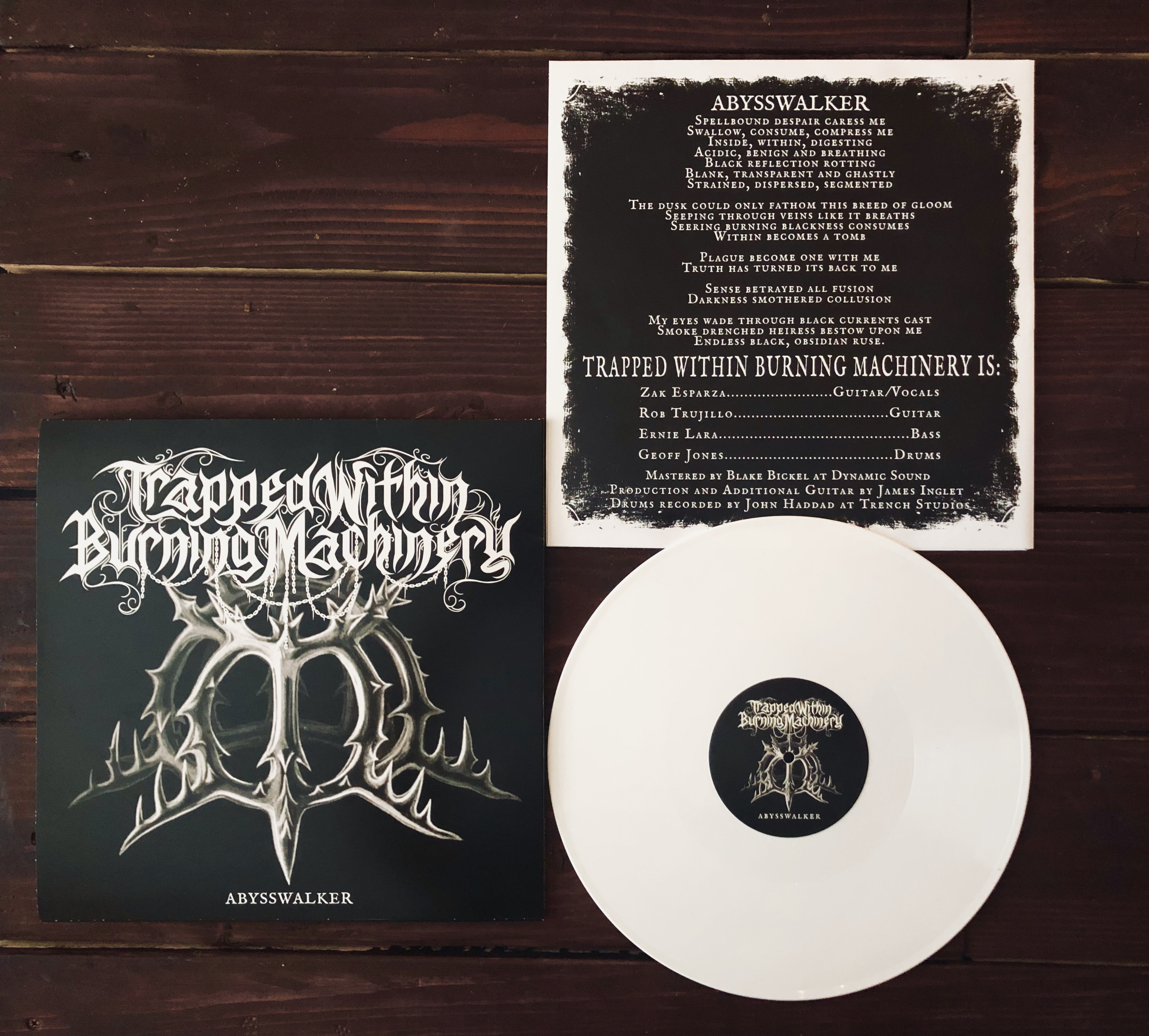 Bloodmoon / Trapped Within Burning Machinery SPLIT
