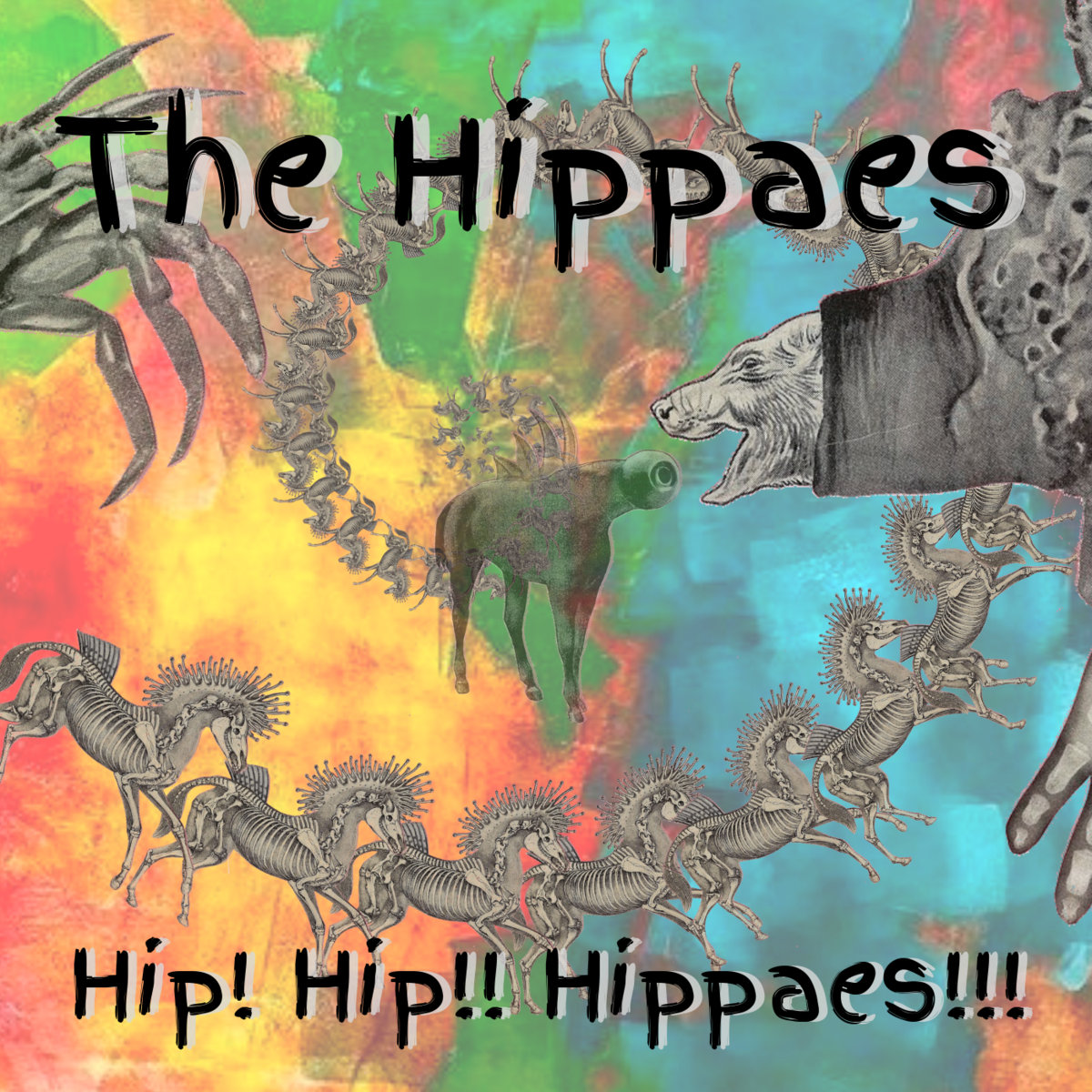 The Hippies - Hip! Hip!! Hippaes!!! CD
