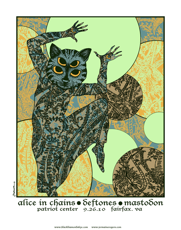 - Alice In Chains, Deftones, MASTODON 'BlackDiamondSkye Tour' (FAIRFAX, VA. 2010) -