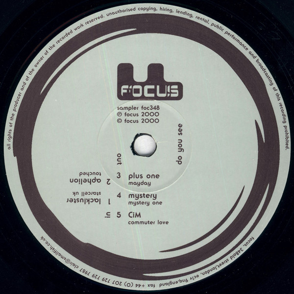 Various Artists  ‎– Do You See (deFocus)