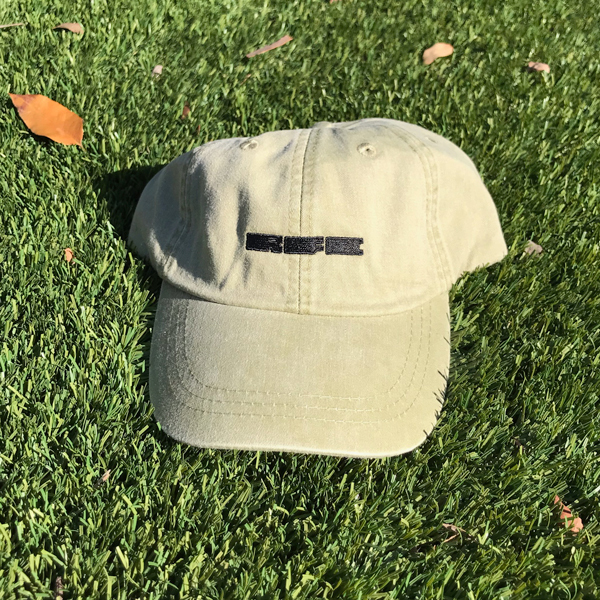Run For Cover - RFC Logo Hat (Khaki)