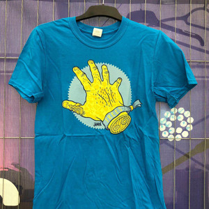 Hand Shirt - designed by Jamie Lenman