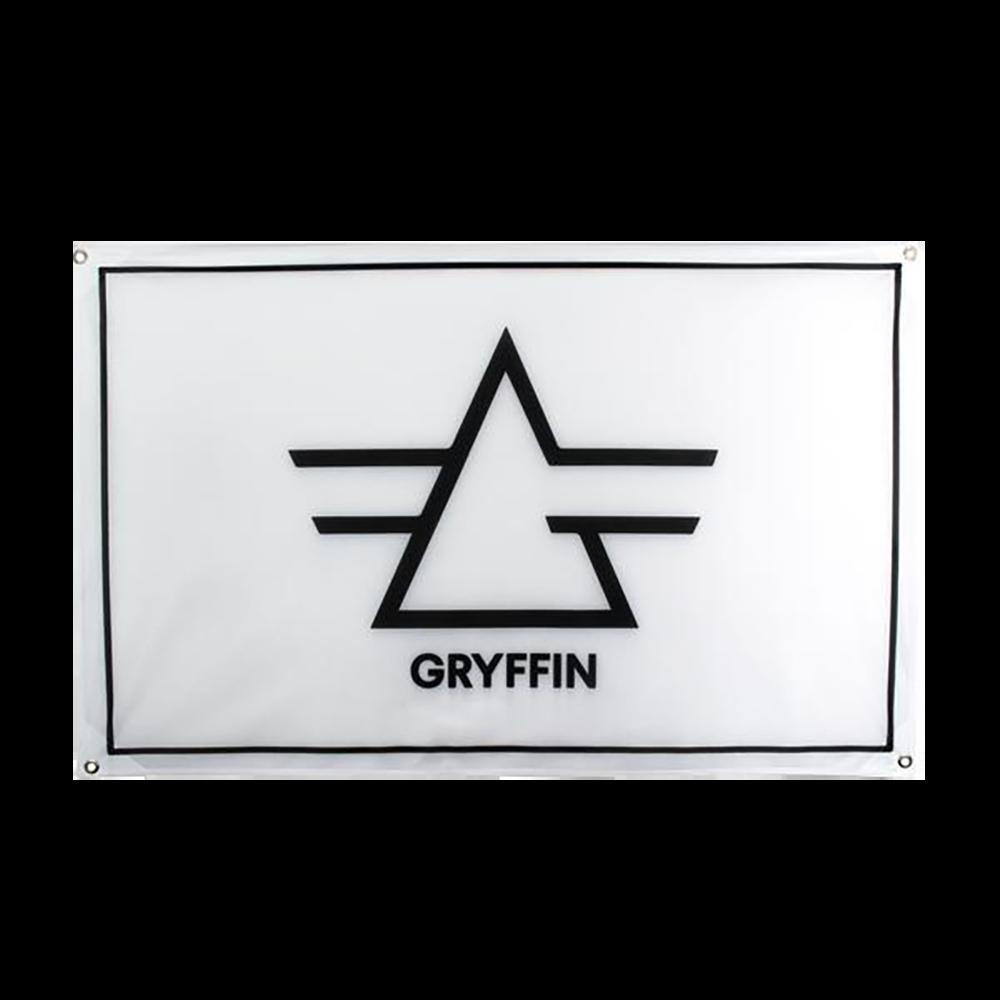 Gryffin Logo White Flag