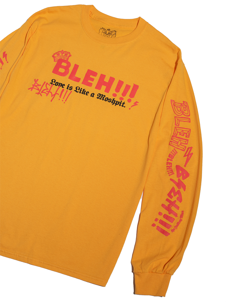 Moshpit Long Sleeve (Yellow)
