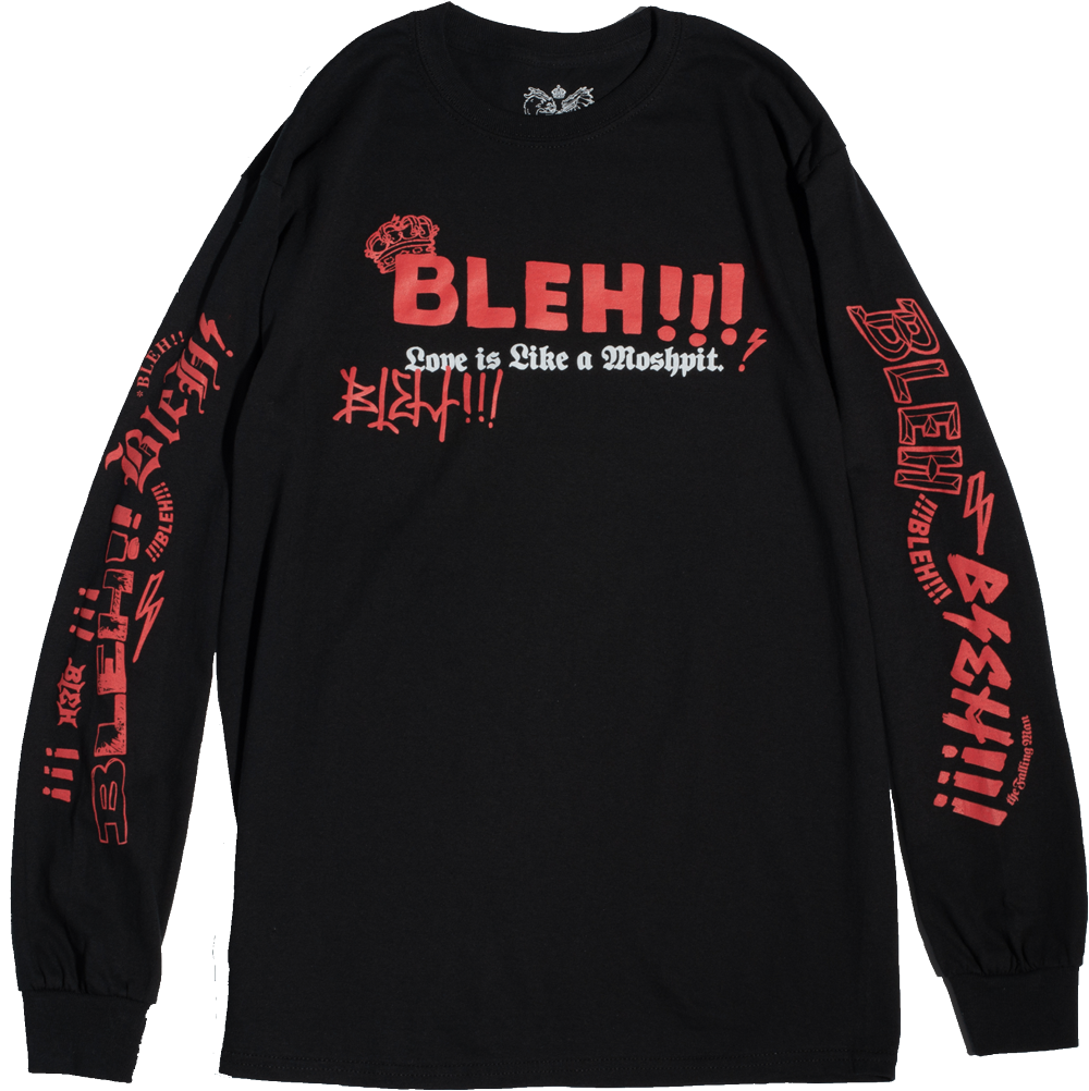 Moshpit Long Sleeve (Black)